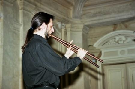 François LAZAREVITCH, flûte baroque et cornemuse